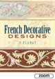 French Decorative Designs - Planat, P. - ISBN: 9780486452289