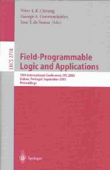 Field Programmable Logic And Applications - Cheung, Peter Y. K. (EDT)/ Constantinides, George A. (EDT)/ De Sousa, Jose T. (EDT) - ISBN: 9783540408222
