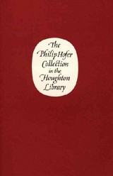 Philip Hofer Collection In The Houghton Library - Bond, William H - ISBN: 9780976547211