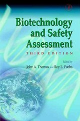 Biotechnology And Safety Assessment - ISBN: 9780126887211