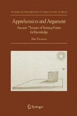 Apprehension And Argument - Tuominen, Miira - ISBN: 9781402050428