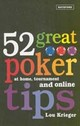 52 Great Poker Tips - Krieger, Lou - ISBN: 9780713490350