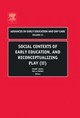 Social Contexts Of Early Education, And Reconceptualizing Play - Reifel, Stuart (EDT)/ Brown, Mac H. (EDT) - ISBN: 9780762311460