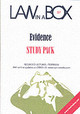 Evidence Law In A Box; Study Pack - ISBN: 9781905507184