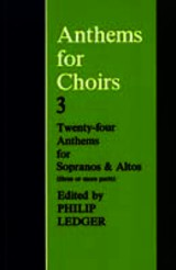Anthems For Choirs 3 - Ledger, Philip (EDT) - ISBN: 9780193532427