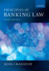 Principles Of Banking Law - Cranston, Ross - ISBN: 9780199276080