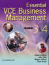 Essential Vce Business Management Units 3 And 4 Book With Cd-rom - Quinn, Faye; Jeffery, Megan; Cain, Julie; Somers, Gillian - ISBN: 9780521543026