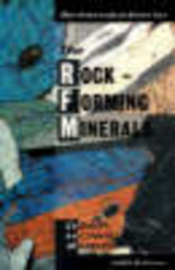 Introduction To The Rock-forming Minerals - Zussman, Joseph; Howie, R. A.; Deer, W. A. - ISBN: 9780582300941