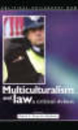 Multiculturalism And Law - Shabani, Omid A. Payrow (EDT) - ISBN: 9780708320068