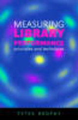 Measuring Library Performance - Brophy, Peter - ISBN: 9781856045933