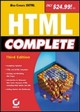 HTML Complete - Sybex, Inc., - ISBN: 9780782142099