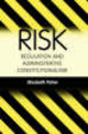 Risk Regulation And Administrative Constitutionalism - Fisher, Elizabeth A. - ISBN: 9781841130330