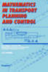 Mathematics In Transport Planning And Control - Griffiths, J. D. (EDT) - ISBN: 9780080434308