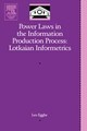 Power Laws In The Information Production Process - Egghe, Leo - ISBN: 9780120887538