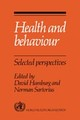 Health And Behaviour - ISBN: 9780521033381