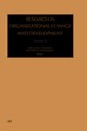 Research In Organizational Change And Development - Pasmore, William A. (EDT)/ Woodman, Richard W. (EDT) - ISBN: 9780762309948