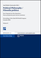 Political Philosophy. Filosofia politica - ISBN: 9783832926861