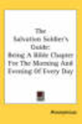 Salvation Soldier's Guide - Anonymous - ISBN: 9781417973095