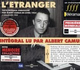 L' etranger, 3 Audio-CDs. Der Fremde, 3 Audio-CDs, franz. Version - Camus, Albert - ISBN: 3561302505220