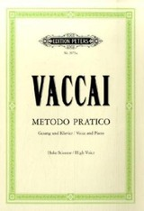Practical Method High Voice Piano - Vaccai, N - ISBN: 9790014009281