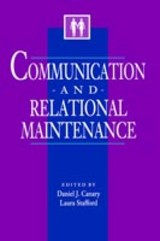 Communication And Relational Maintenance - Canary, Daniel J. (EDT)/ Stafford, Laura (EDT) - ISBN: 9780121584306