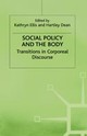Social Policy And The Body - ISBN: 9780333713846