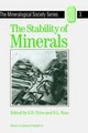 The Stability Of Minerals - Price, Geoffrey D./ Ross, Nancy L. (EDT) - ISBN: 9780412441509