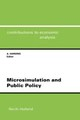 Microsimulation And Public Policy - Harding, Ann (EDT) - ISBN: 9780444818942