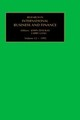 Research In International Business And Finance - Doukas, John (EDT)/ Lang, Larry (EDT) - ISBN: 9781559389198
