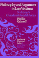 Philosophy And Argument In Late Vedanta - Granoff, Phyllis - ISBN: 9789027708786