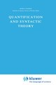 Quantification And Syntactic Theory - Cooper, R. - ISBN: 9789027718921