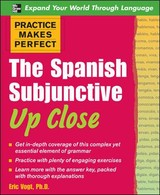The Spanish Subjunctive Up Close - Vogt, Eric/ Arthur (COR) - ISBN: 9780071492256
