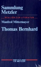 Thomas Bernhard - Mittermayer, Manfred - ISBN: 9783476102911