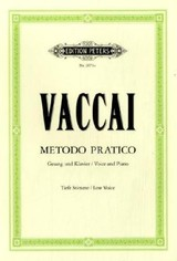 Practical Method - Vaccai, Nicola - ISBN: 9790014009304