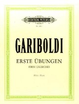 58 First Exercises For Flute - Gariboldi - ISBN: 9790014009076