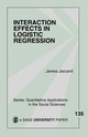 Interaction Effects In Logistic Regression - Jaccard, James - ISBN: 9780761922070