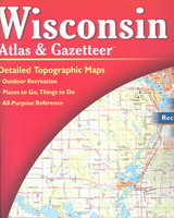 Wisconsin Atlas & Gazetteer - Delorme (EDT) - ISBN: 9780899333311