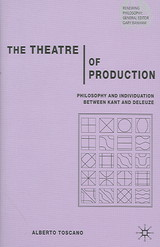 Theatre Of Production - Toscano, A. - ISBN: 9781403997807