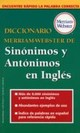 Diccionario Merriam-Webster De Sinonimos Y Antonimos En Ingles - Merriam-webster - ISBN: 9780877798521