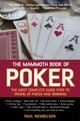 Mammoth Book Of Poker - Mendelson, Paul - ISBN: 9781845298074