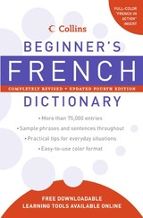 Collins Beginner's French Dictionary - HarperCollins (COR) - ISBN: 9780061374920
