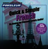 Pimsleur Quick & Simple French - (NA) - ISBN: 9780743509510