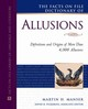 Facts On File Dictionary Of Allusions - Manser, Martin H. - ISBN: 9780816071050