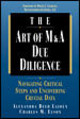Art Of M&a Due Diligence - Lajoux, Alexandra Reed; Elson, Charles M. - ISBN: 9780786311507