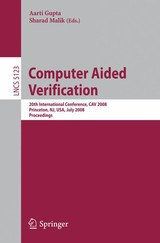 Computer Aided Verification - ISBN: 9783540705437
